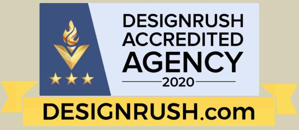 design rush accredited website design company