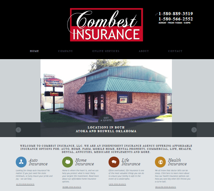 Insurance Company Website Development That Allows Monthly Payments and Claims