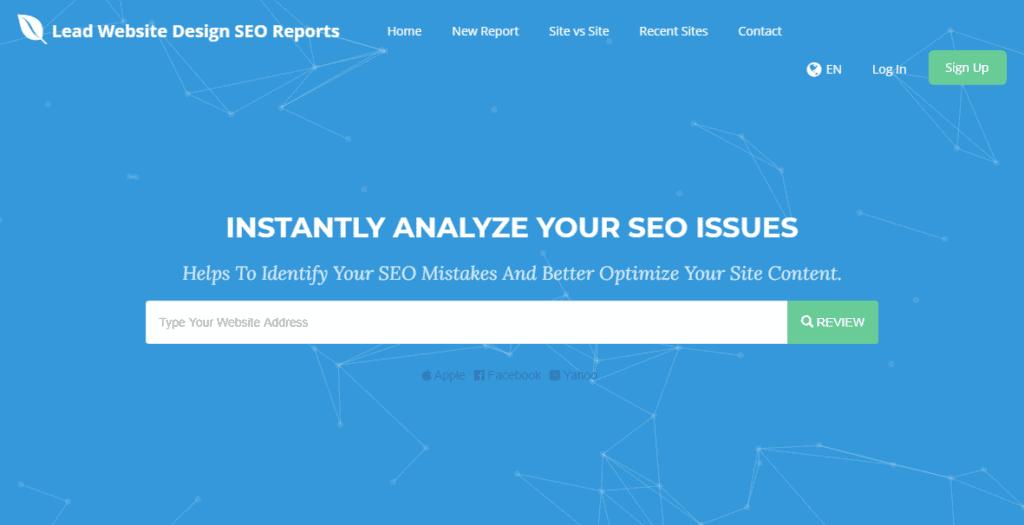 free-seo-analyzer-by-lead-website-design