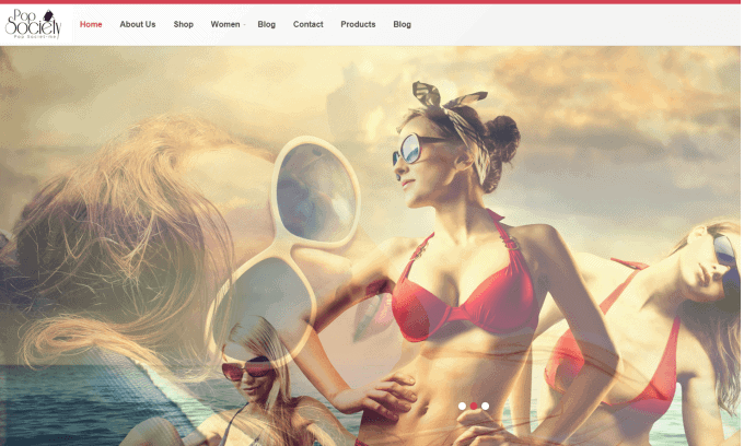 Woman's Clothing Company Website Design By Lead We
