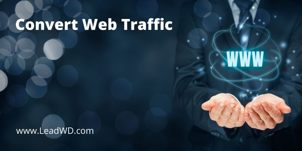 Convert Web Traffic Via SEO